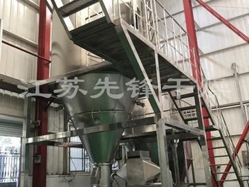 返粉造粒旋流式喷雾干燥试验机