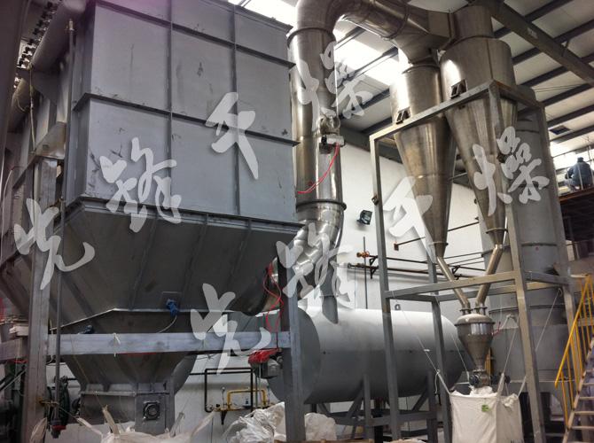 DGXS型电池材料气旋式闪蒸干燥机