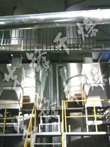 应用于山东香驰集团的大豆膳食纤维闪蒸专用干燥机1