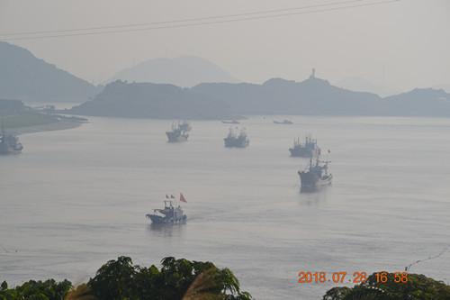 东门岛全景