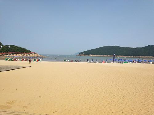 松兰山海滨浴场9