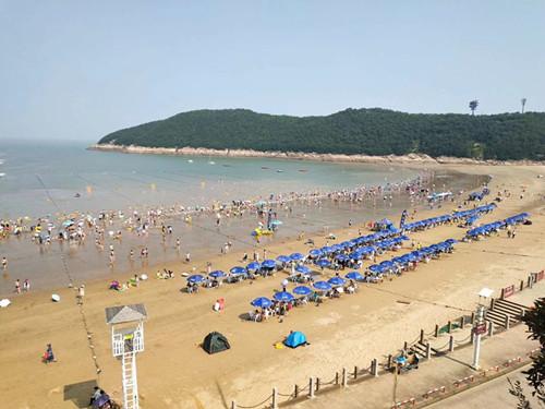 松兰山海滨浴场1